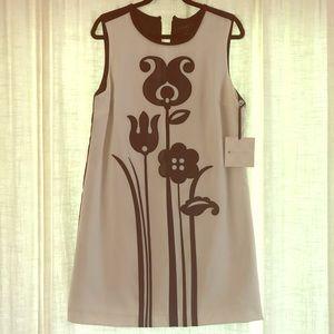 Victoria Beckham Black White Dress